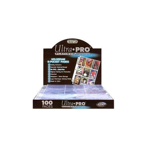 Ultra Pro - 9 Pocket Pages (Box of 100)