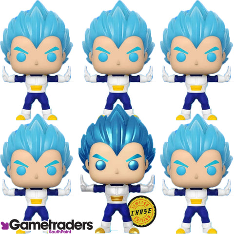 Dragon Ball Z - Vegeta Powering Up Glow Chase Bundle