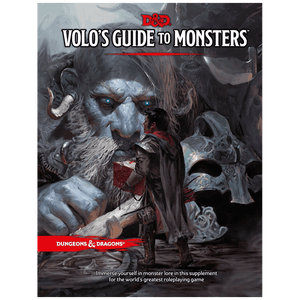 D&D VoloS Guide To Monsters -Book