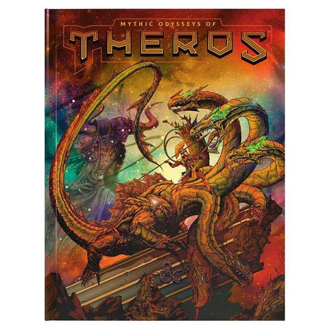 D&D Mythic Odysseys of Theros Alternate Cover book
