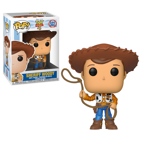 Toy Story 4 - Woody with Forky US Exclusive Pop!