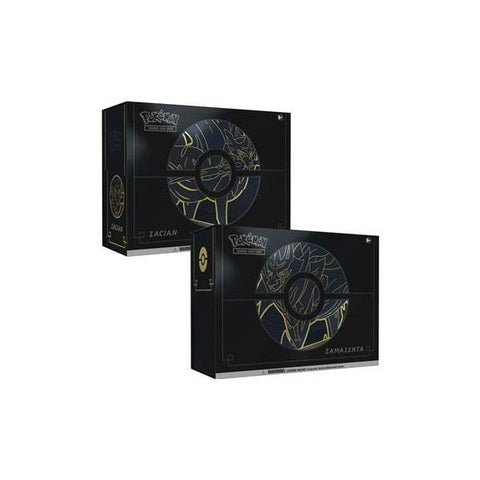 Pokemon TCG Elite Trainer Box Plus- Zacian & Zamazenta- Due Late Nov