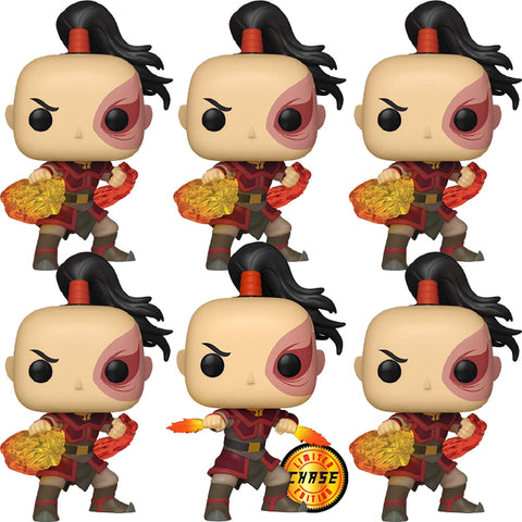 Avatar The Last Airbender - Zuko Chase Pop! Bundle - 6 For $106 - Due Sep