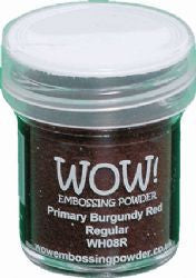 WOW Embossing Powders Reds - See more options - sugar and spice crafts - 3