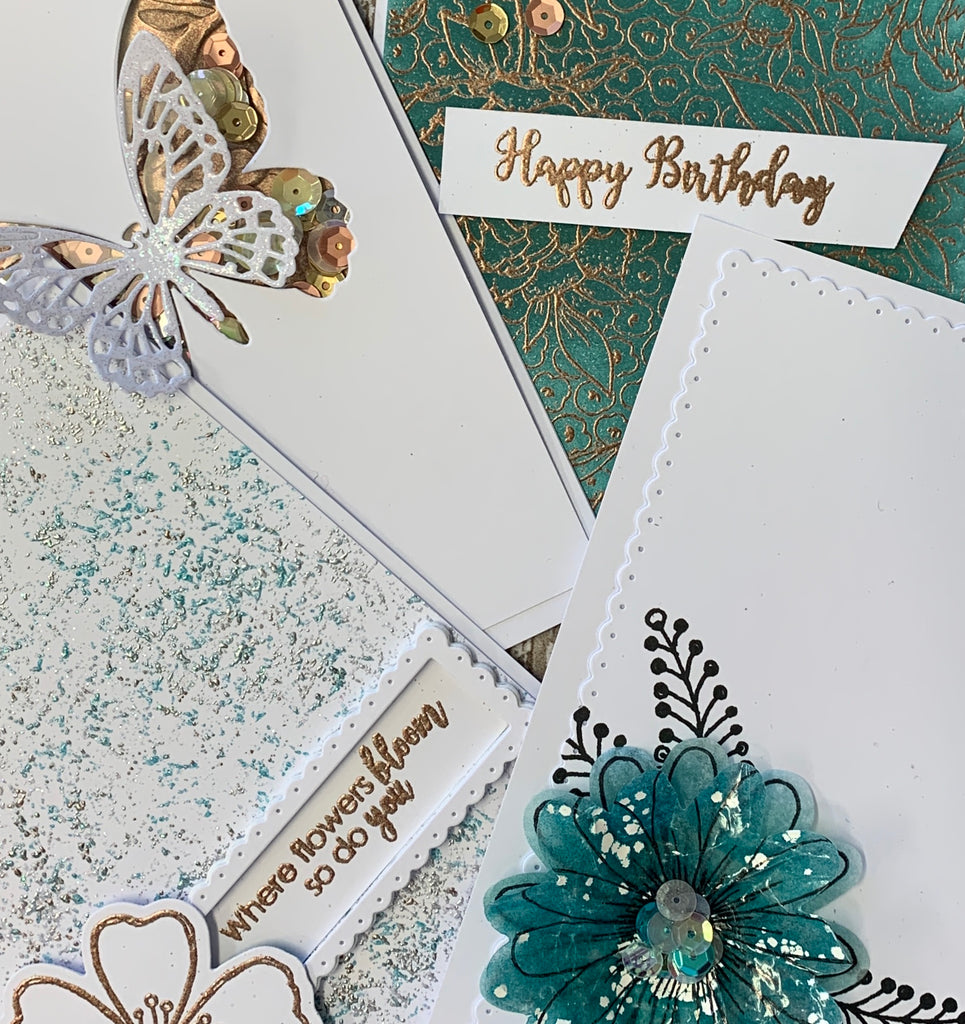 Sugar and Spice Simple but Effective Cardmaking On-Line - 6th June at 11am