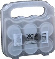 WOW storage case 6 jar - sugar and spice crafts