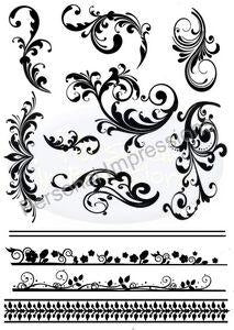 Marion Emberson Designs - Flourishes