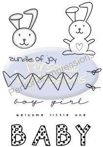 Marion Emberson Designs - Welcome Little One - sugar and spice crafts