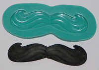 Moustache - sugar and spice crafts