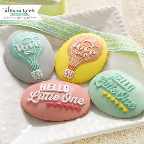 Webster's pages - Alison Kreft - Hello World Designer Cameos - sugar and spice crafts