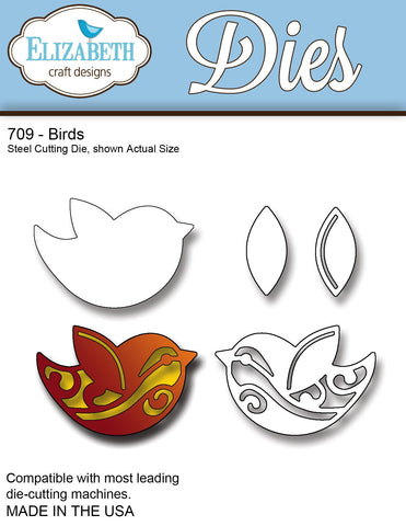 Elizabeth Craft Designs Birds