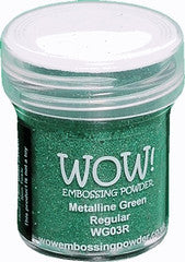 WOW Embossing Powders Greens - See more options - sugar and spice crafts - 5