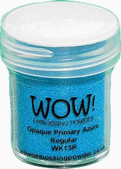 WOW Embossing Powders Blues - See more options - sugar and spice crafts - 1