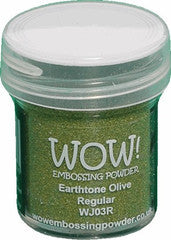 WOW Embossing Powders Greens - See more options - sugar and spice crafts - 6
