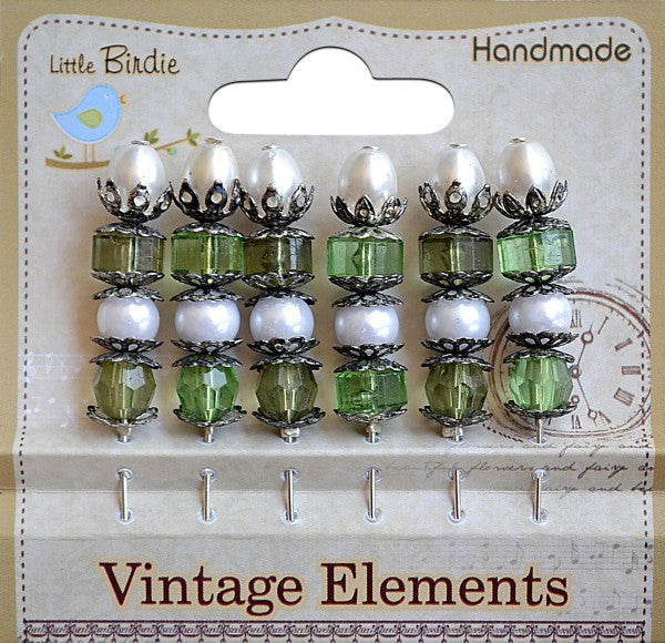 Vintage Stick Pins - See more options - sugar and spice crafts - 1