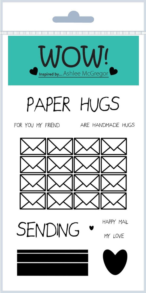 WOW! Stamps Paper Hugs