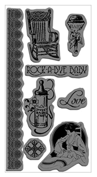 Graphic 45 Cling Stamps by Hampton Art