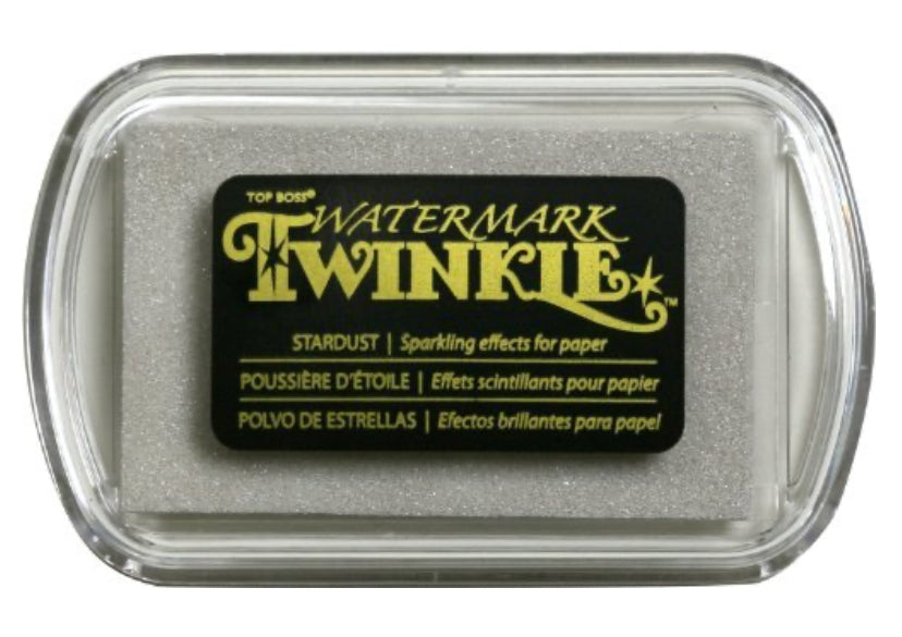 Top Boss Watermark Twinkle Stardust Ink Pad
