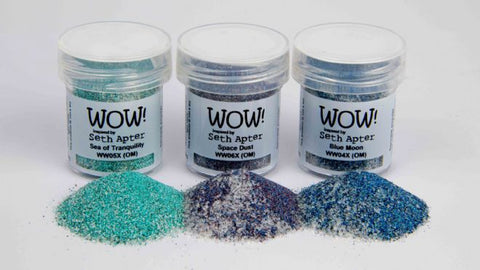 WOW Embossing Powder Trio Cosmic