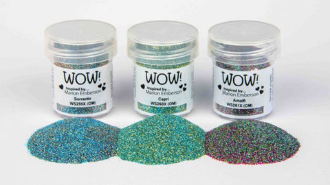 WOW Embossing Powder Trio Italian Adventure