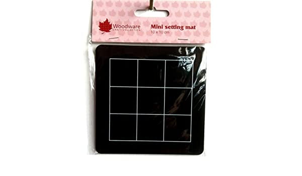"woodware Mini Setting Mat 4"" x 4"""