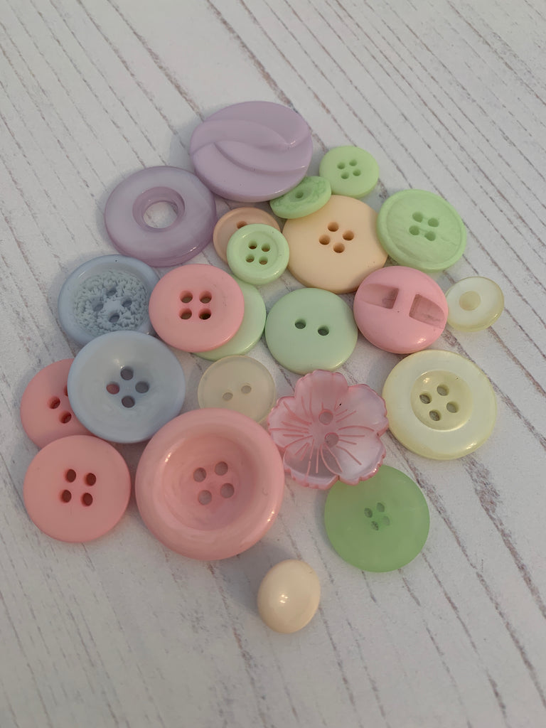 Buttons - Pastel