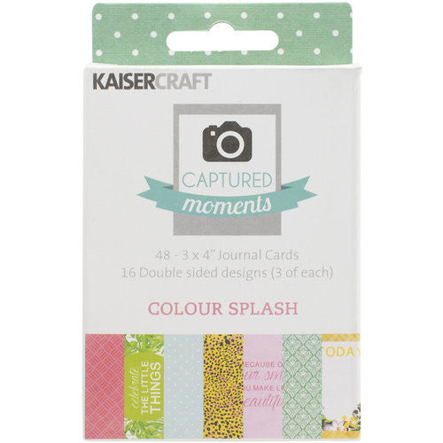 KaiserCraft Captured moments Colour Splash - sugar and spice crafts