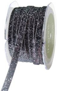 May Arts Velvet Glitter Ribbon - sugar and spice crafts - 1