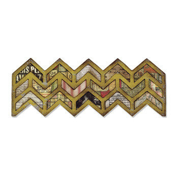 Sizzix Chevrons - sugar and spice crafts