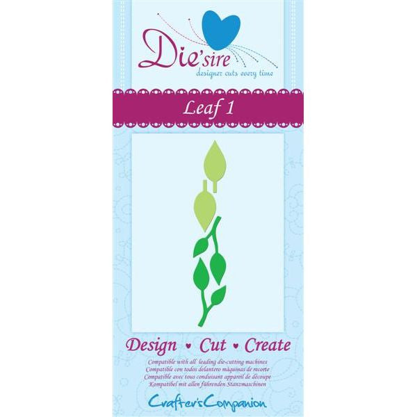 Die'Sire Leaf 1 - sugar and spice crafts - 1