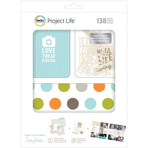 Project Life Cathy Zeilske Kit - sugar and spice crafts