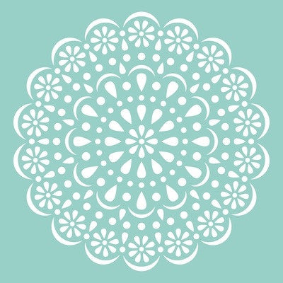 KaiserCraft Template   -  Doily 12x12 - sugar and spice crafts