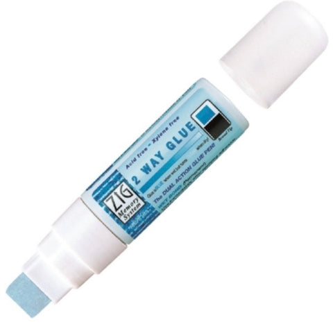 Kuretake 2 way glue pen jumbo tip