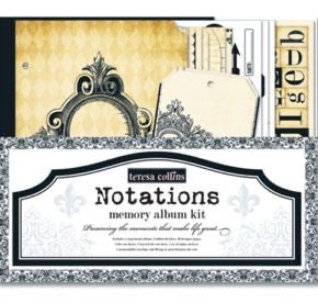Teresa Collins Notations Memory Album Kit