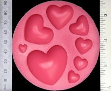 WOW Silicone Mould Hearts