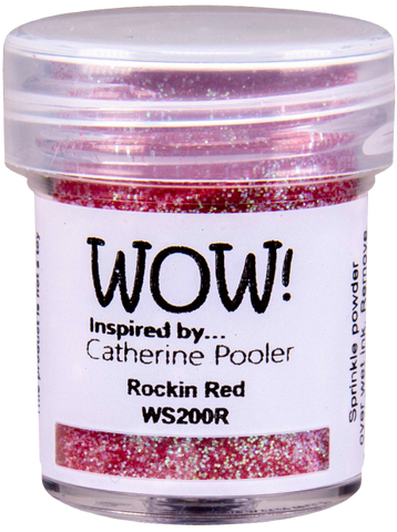 WOW! Rockin Red Inspired by Catherine Pooler