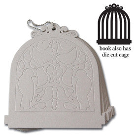 Maya Road Birdcage Chipboard Book