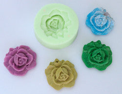 Silicone Mould Medium Rose - sugar and spice crafts