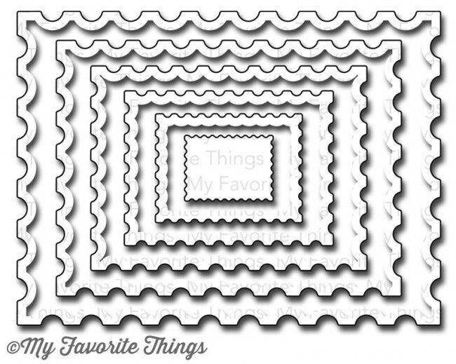 Die-namics Postage Stamp STAX - sugar and spice crafts