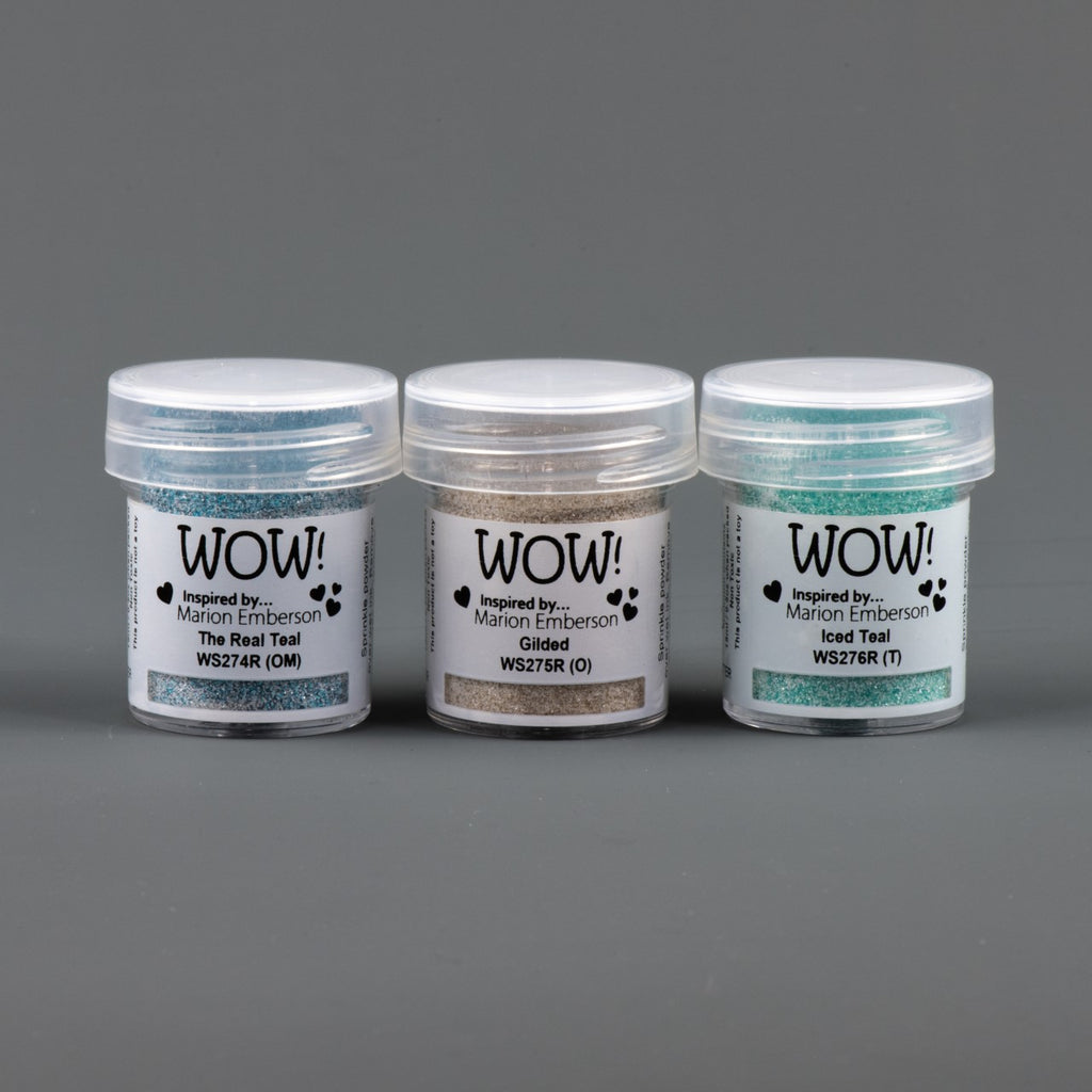 WOW Embossing Powder Trio Toteally Amazing