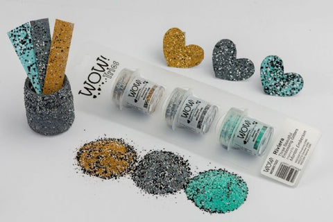 WOW Embossing Powder Trio Riviera