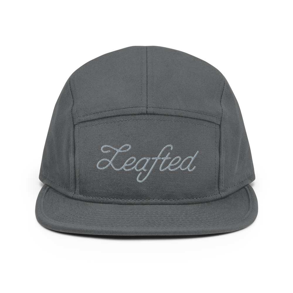 Leafted classic camper hat