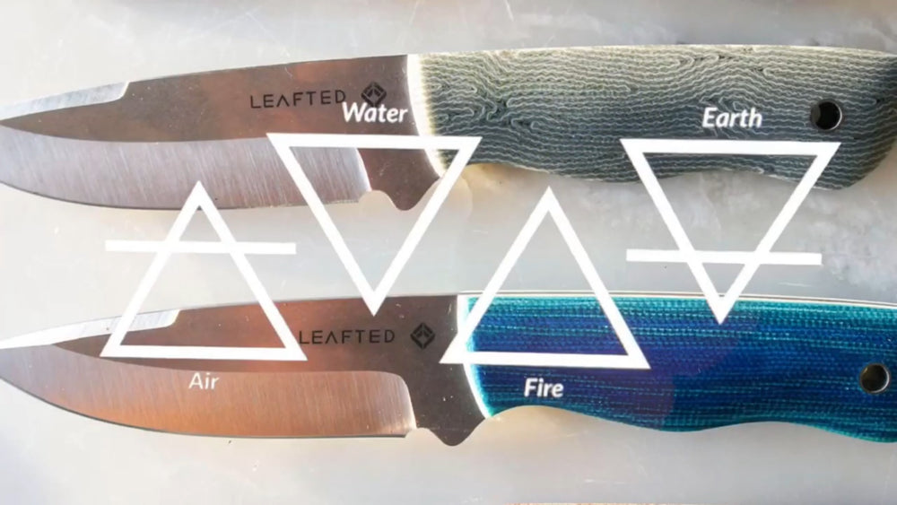 Falcon field Knife -Elements series