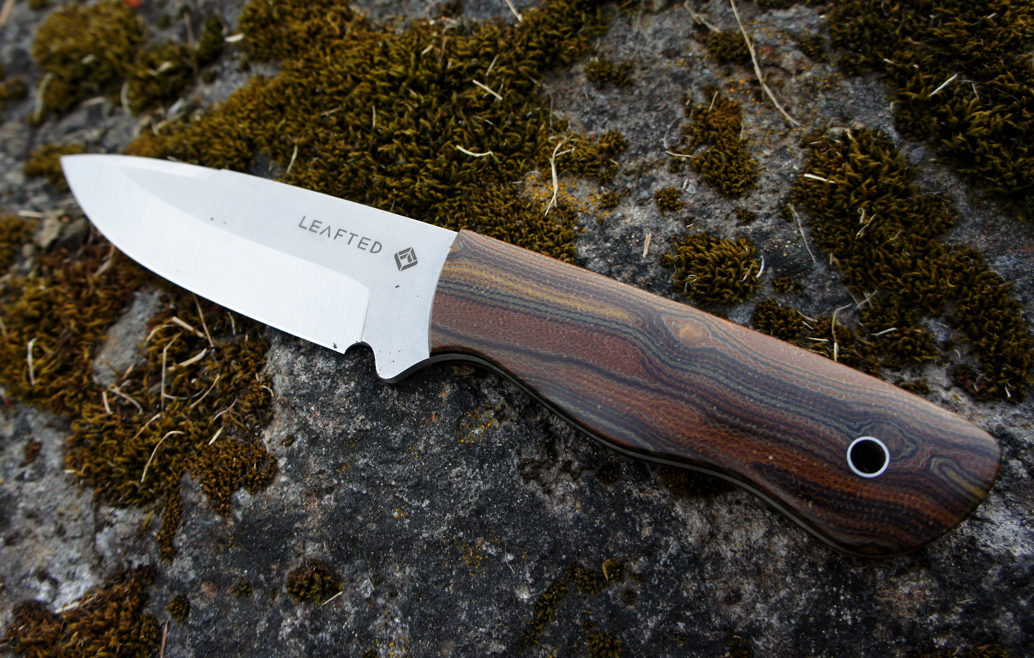 Falcon field Knife -Elements series - EARTH - edition of 1