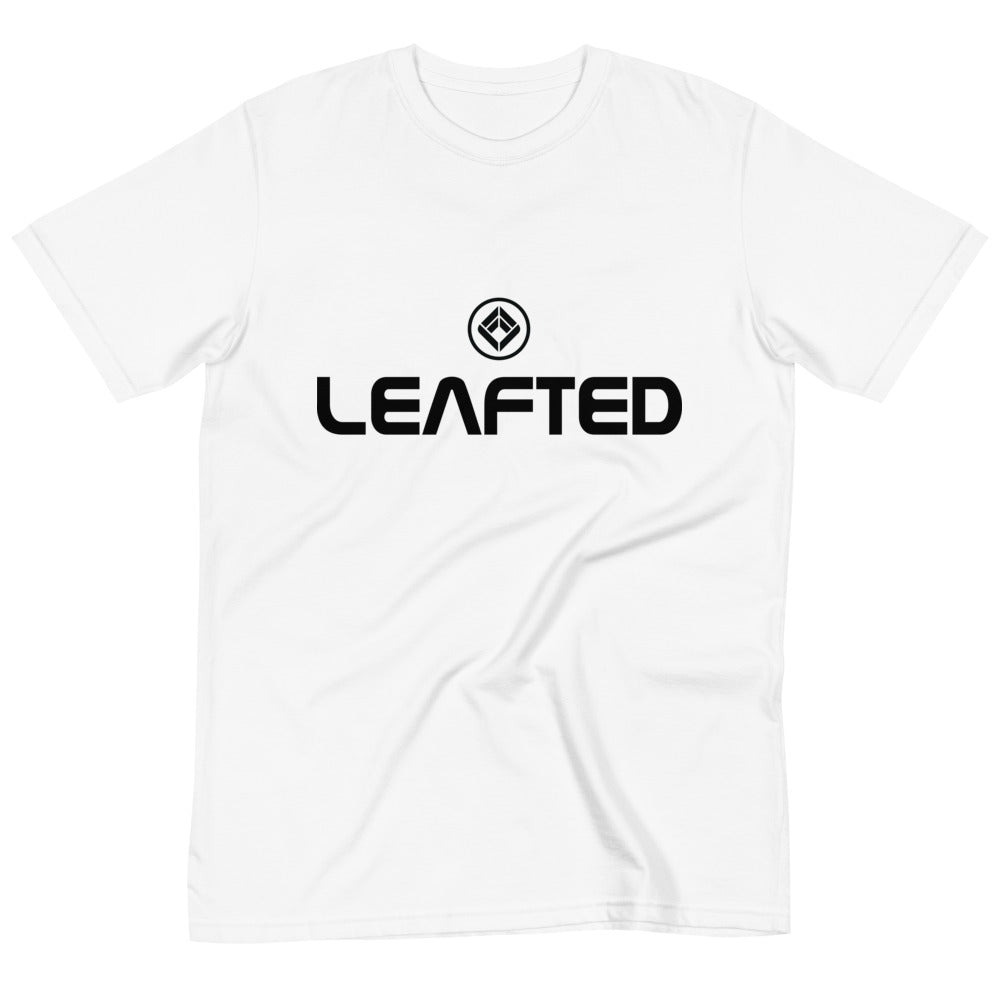 leafted organic t-shirt. explorer