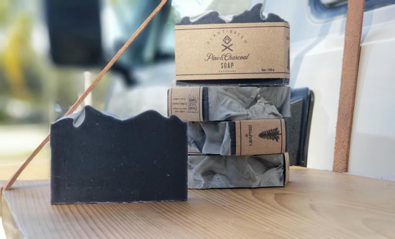 Pine and Charcoal soap