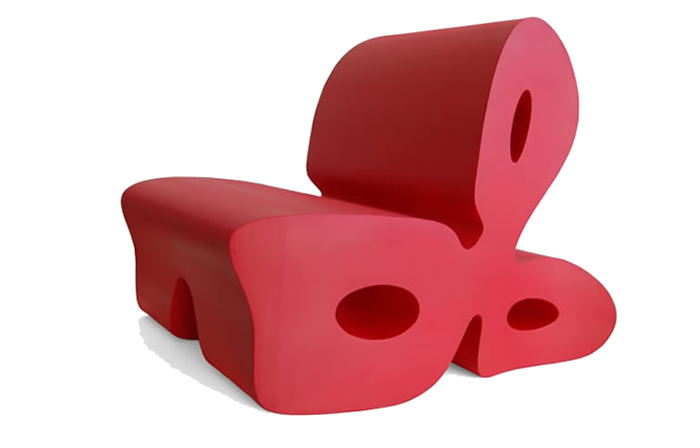Clover Chair (oval version)