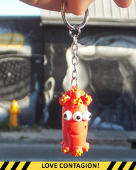 The Love Bug Keychain