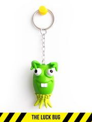 The Luck Bug -- Designer keychains -- I BUG YOU
