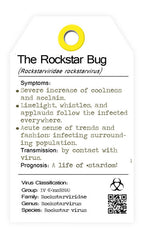 The rockstar bug. the rockstar bugs.  I bug you. collectables.